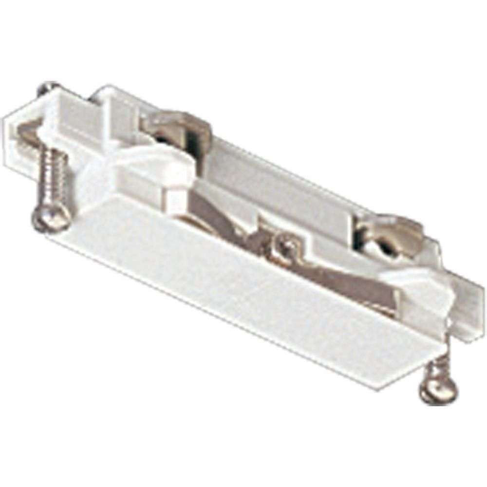 White Track Accessory, Straight Connector