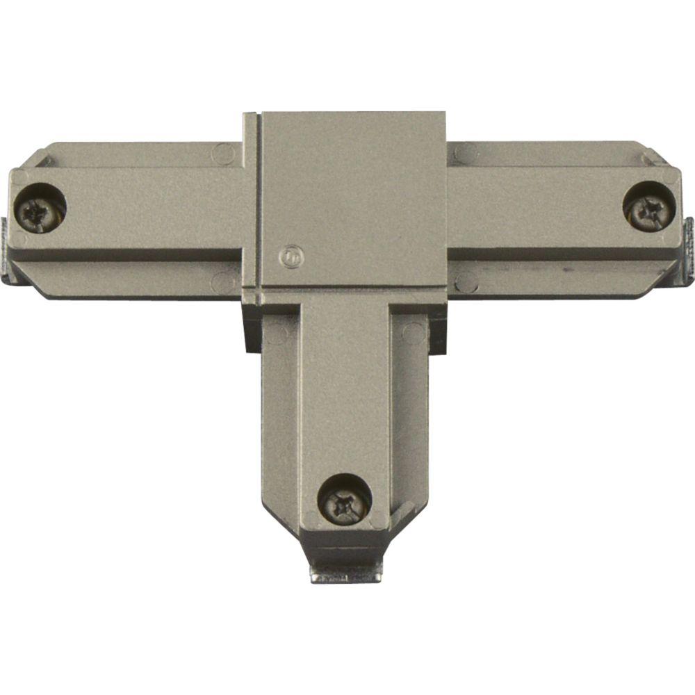 Accessoire de rail, connecteur enT�polarité intérieure gauche - fini Nickel Brossé