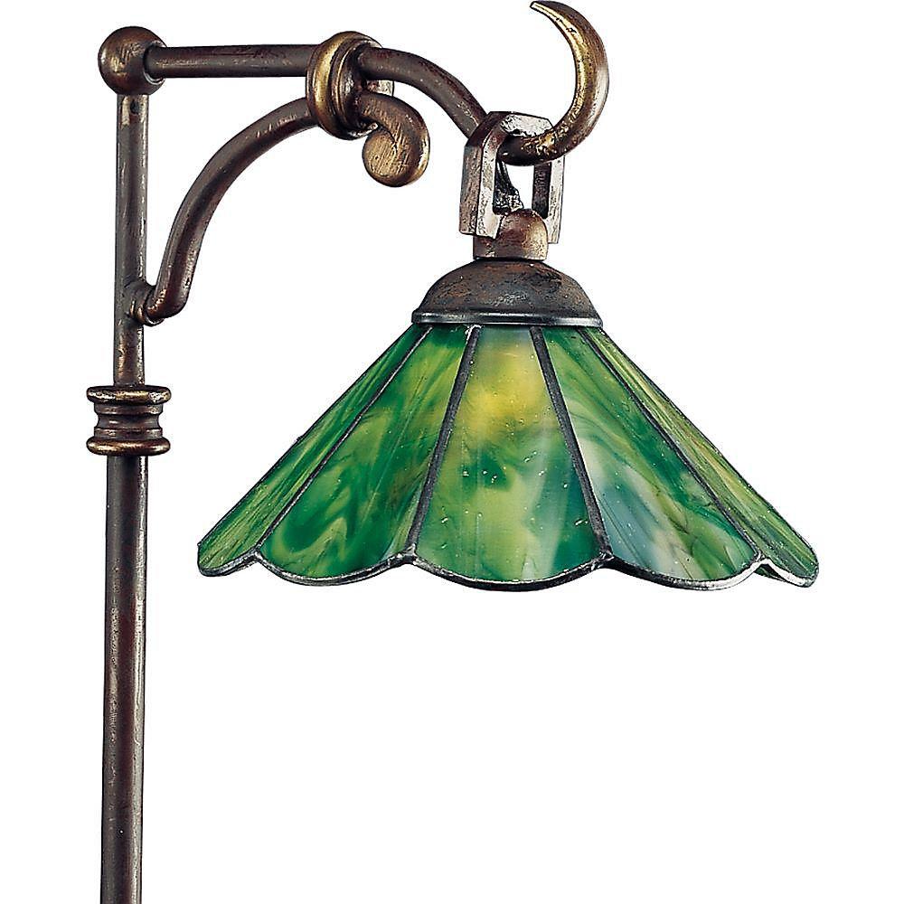 Éclairage du chemin decoratif à 1 Lumière - fini Bronze à l'Ancienne