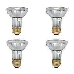Philips EcoVantage Ampoule éconergétique-Halogène Projecteur d'intérieur-PAR20 39W = 50W 4 paq. Valeur