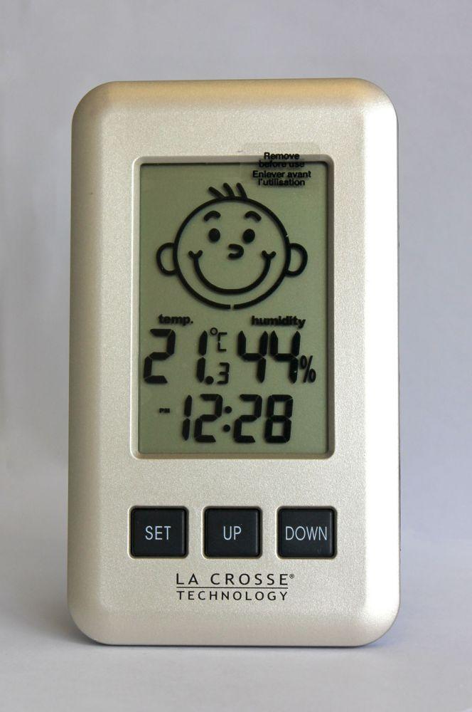Moniteur de température et dhumidité numérique