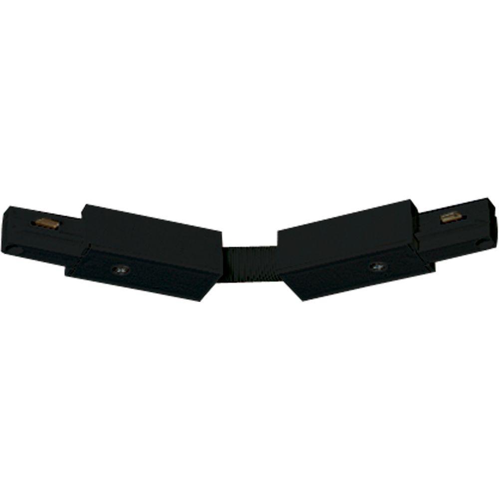 Accessoire de rail, connecteur flexible - fini Noir