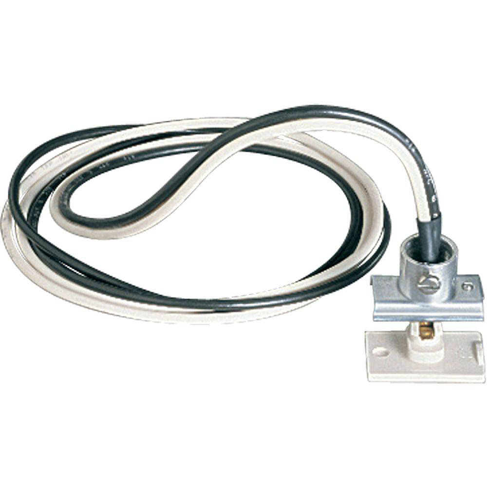 White Track Accessory, Anywhere Power Feed