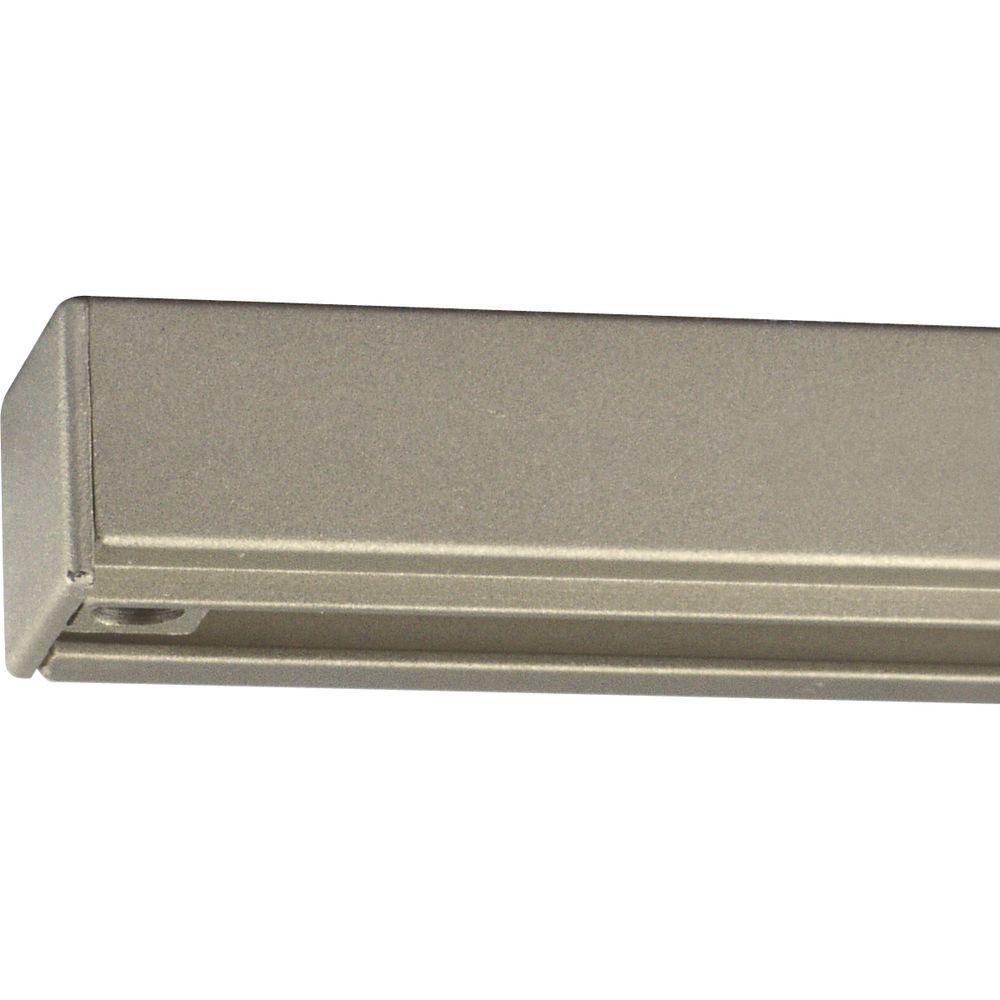 Brushed Nickel 8 ft. Track Section