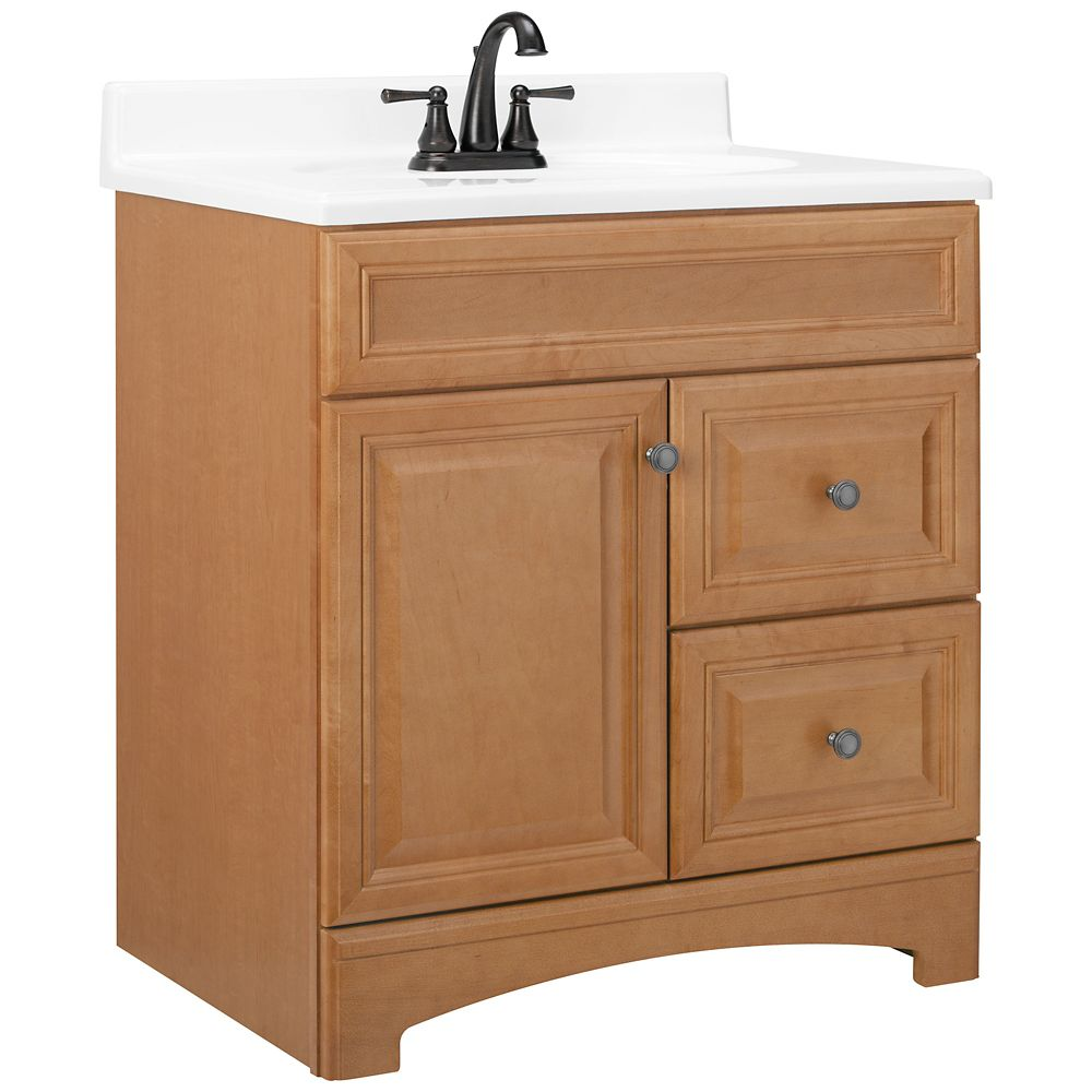 american classics cambria harvest vanity 30 inch wide the home depot canada. Black Bedroom Furniture Sets. Home Design Ideas