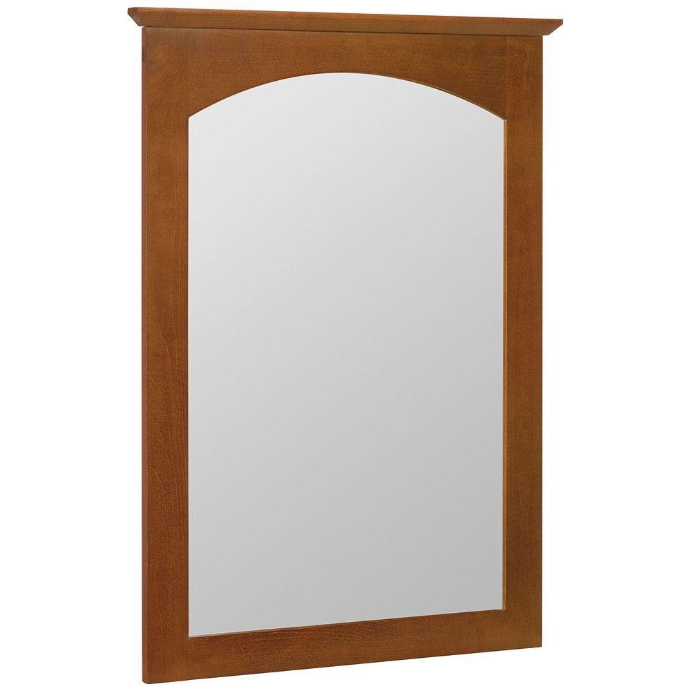 Melborn Chestnut Wall Mirror - 22 Inch x 31 Inch