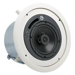 Atlas Sound Strategy II 6 in 32W @ 70.7/100V Coaxial Tuned & Ported Ceiling System