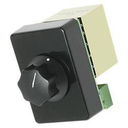 Atlas Sound Deluxe, monté en rack 100W atténuateur, incrément de 3 dB