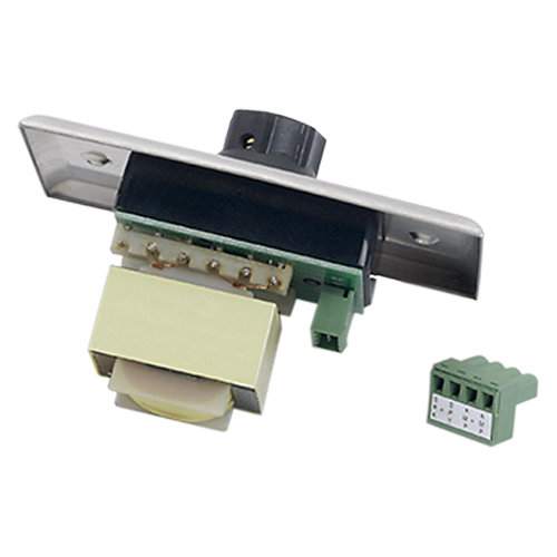 35W Single Gang Stainless Steel 70.7V Commercial Attenuator