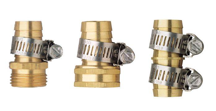 Nécessaire de raccommodeur en métal pour boyau de 13 mm (1/2 po)