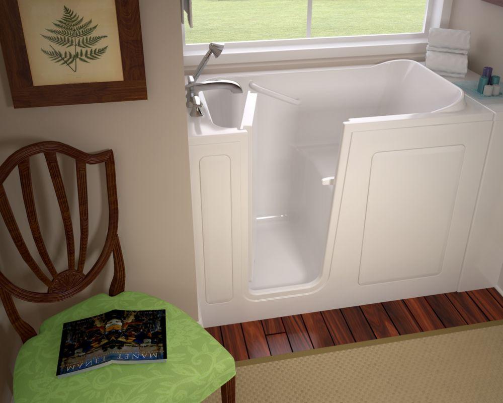 Bain tourbillons et th rapeutique air plein pied en - Enduit salle de bain impermeable ...