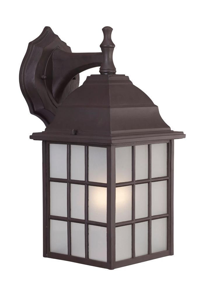 Colton 19 Inch Outdoor ORB Lantern, Frosted Glass