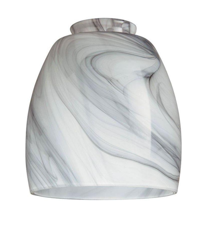 Westinghouse Charcoal Swirl Glass Shade