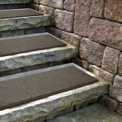 Envirotile Flat Profile Earth Stair Tread - 10 Inch x 24 Inch