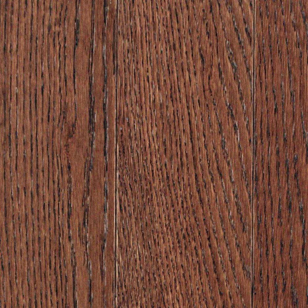 Whiskey Plank Oak Warm Cocoa 3/4-inch Thick x 3 1/4-inch W Hardwood Flooring (27 sq. ft. / case)
