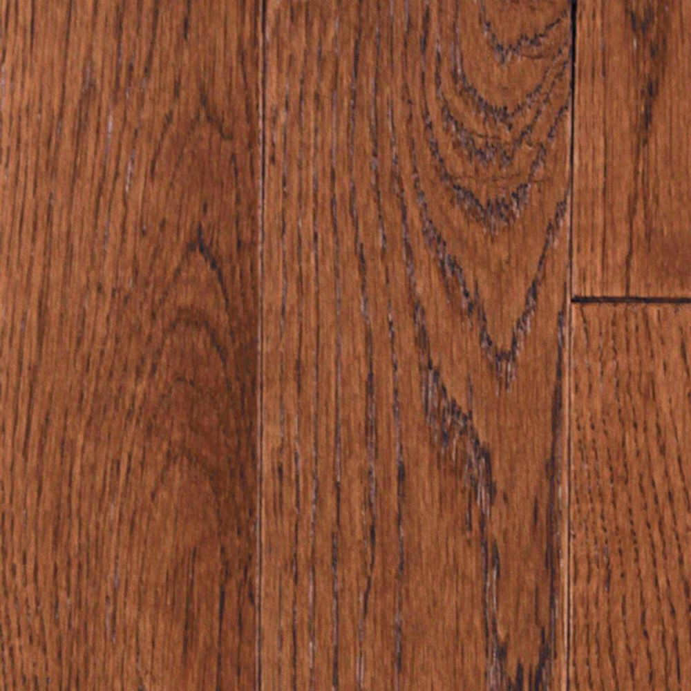 3 1/4 Inch Whiskey Plank Oak Tanned Leather Wire Brushed 3/4 Inch Solid Hardwood Flooring (27  Sq...