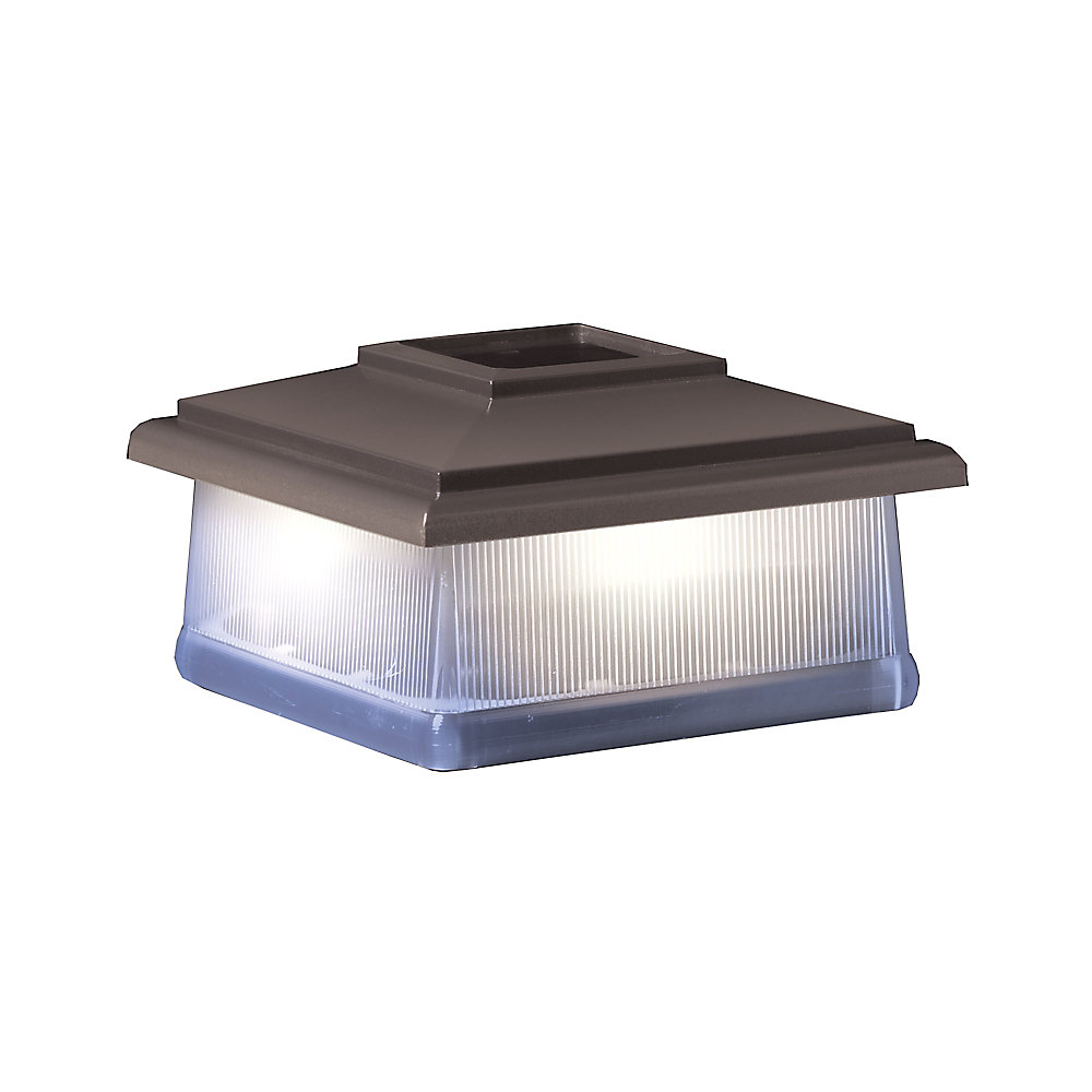 5X5  Solar Light Post Cap - Bronze