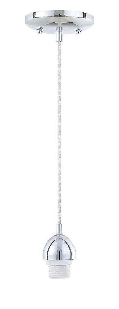 One-Light Adjustable Mini Pendant Kit Chrome