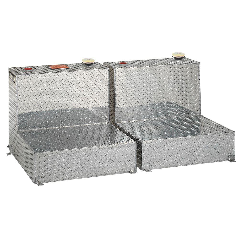 96 Gallon Twin L-Shaped Storage Tank