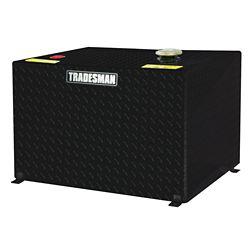 Tradesman 55 Gallon Rectangular Storage Tank, Black