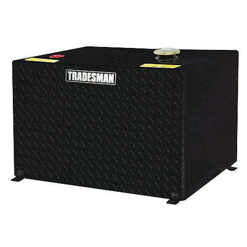 Tradesman 208L/55-Gallon Rectangular Storage Tank in Black