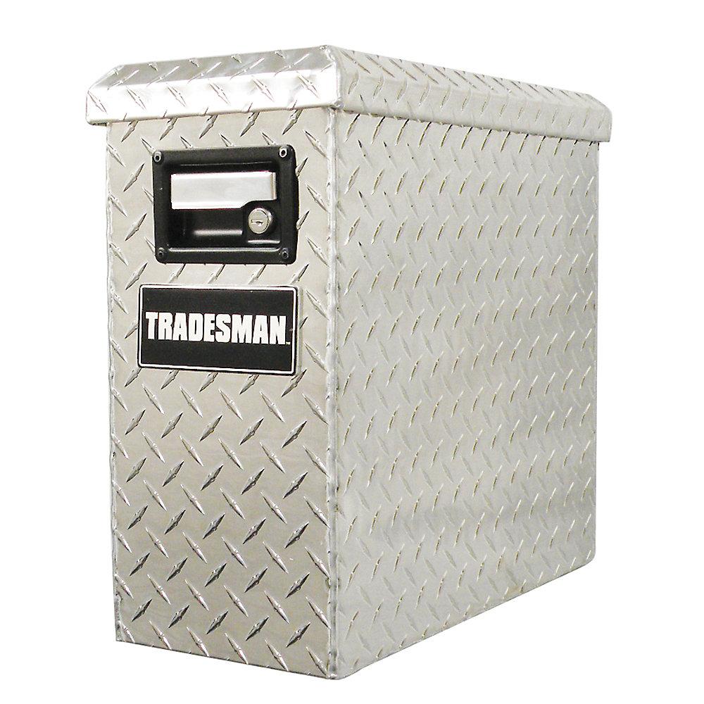 Boîte à outils/Armoire mobile en aluminium 19 pouces x 8 pouces