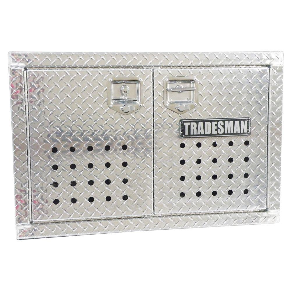 Boîte de transport affleurante de 24 pouces pour chien