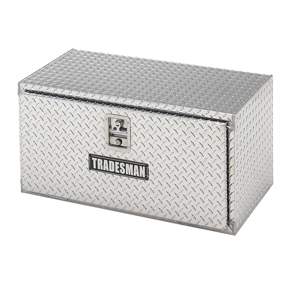 24  inch Underbody Truck Tool Box, Aluminum