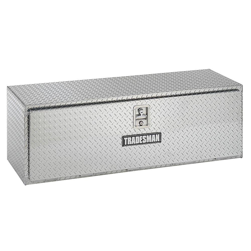 Boîte à outils de 48 pouces pour dessous de carrosserie, aluminium