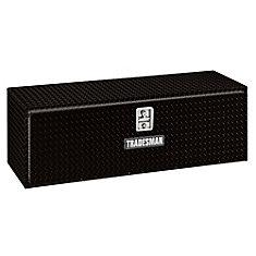 48  inch Underbody Truck Tool Box, Aluminum, Black