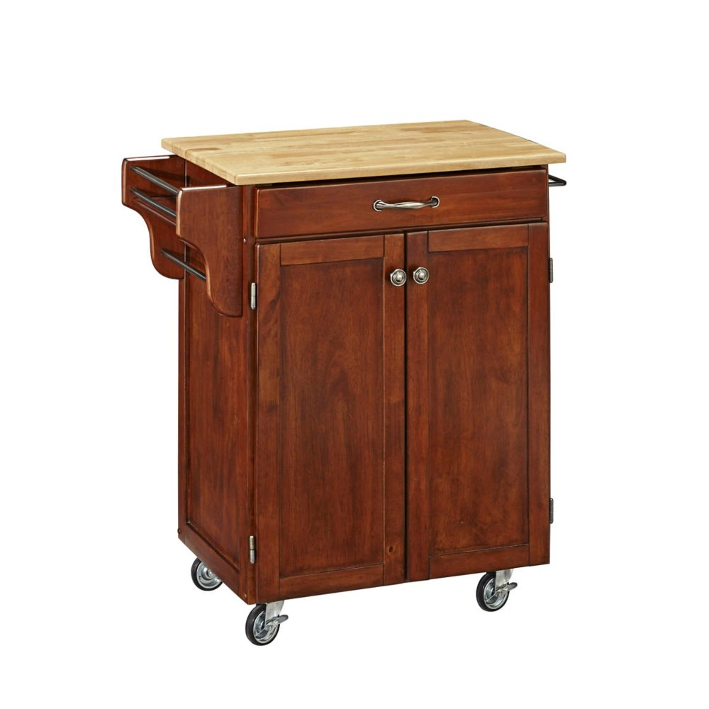 Cherry With Wood Top