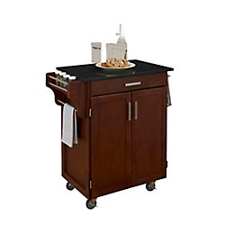 Create A Cart Cherry With Black Granite Top
