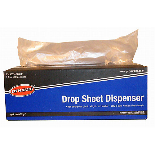 9 ft.  x 400 ft. Dropsheet Dispenser
