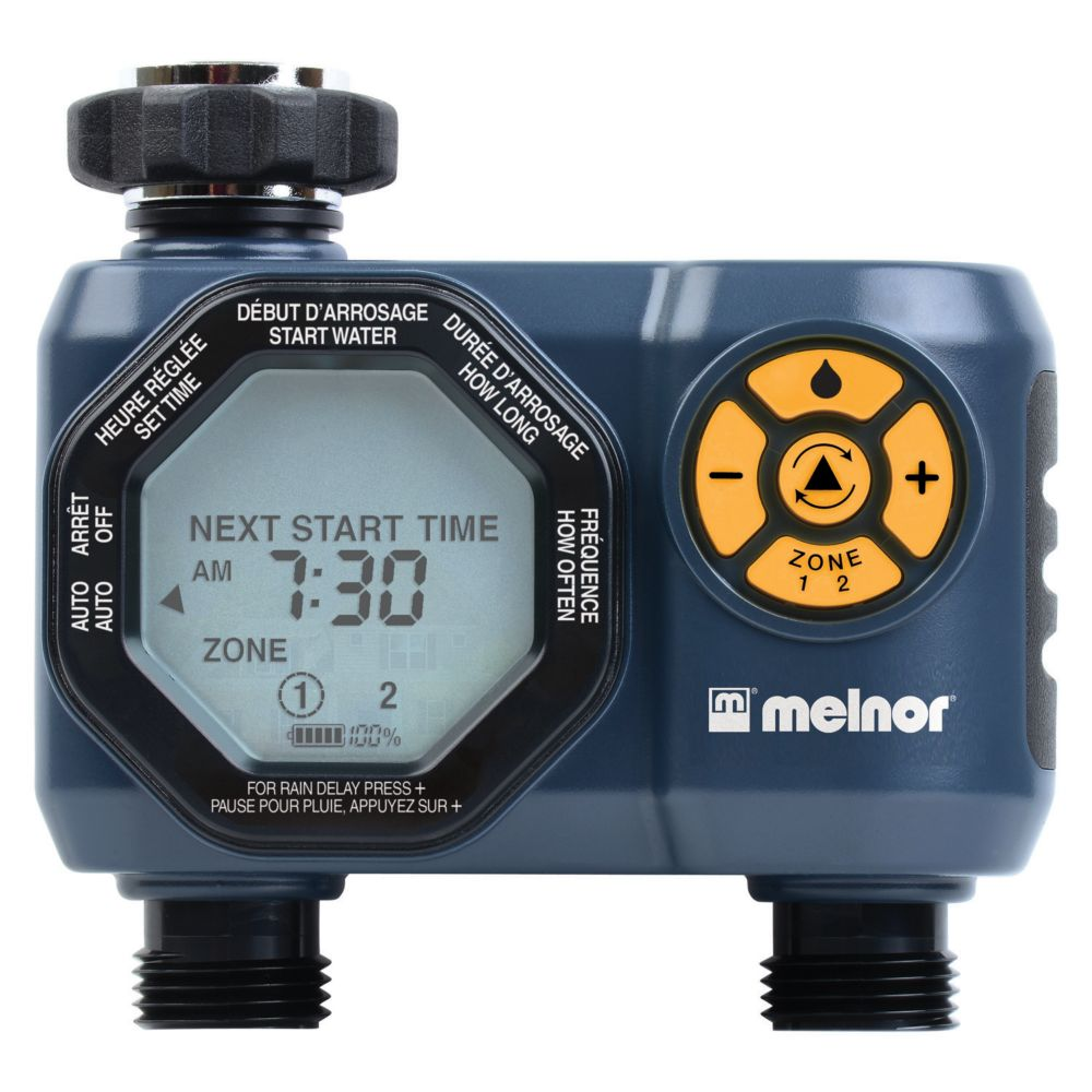 Advanced Two-Zone Electronic Water Timer