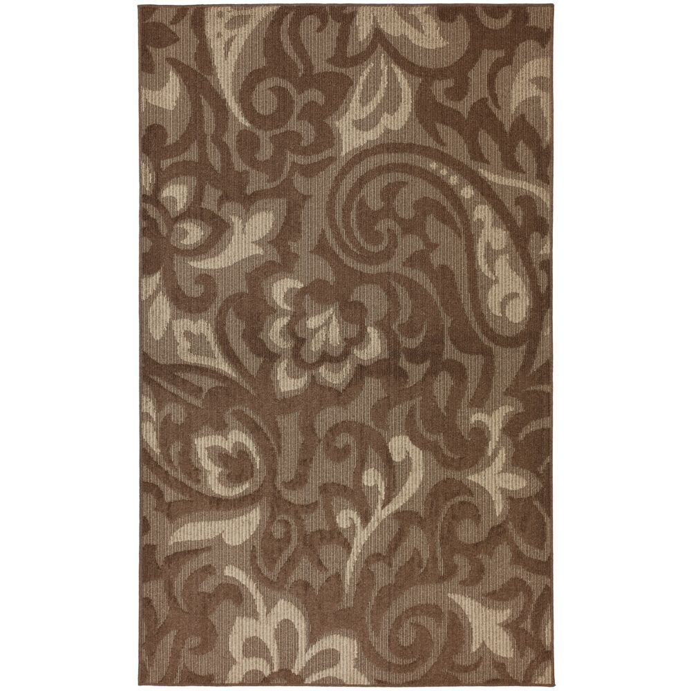 Forte Dark Cocoa 5 Ft. x 8 Ft. Area Rug