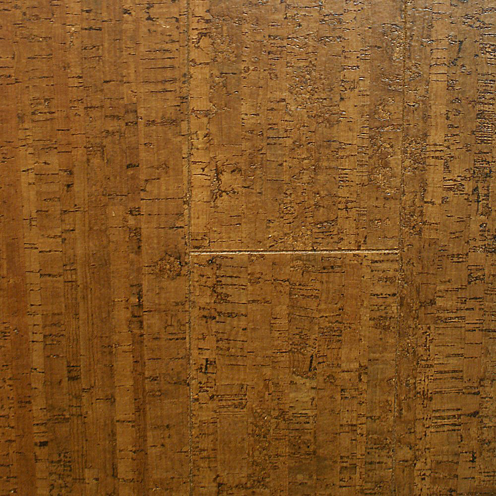 Plancher, liège, 3/32 po s x 5 1/2 po x 36 po, Paille Brunie, 10,92 pi2/boîte