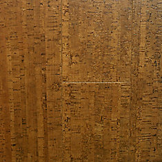 Burnished Straw 13/32-inch Thick x 5 1/2-inch W x 36-inch L Cork Flooring (10.92 sq. ft. / case)
