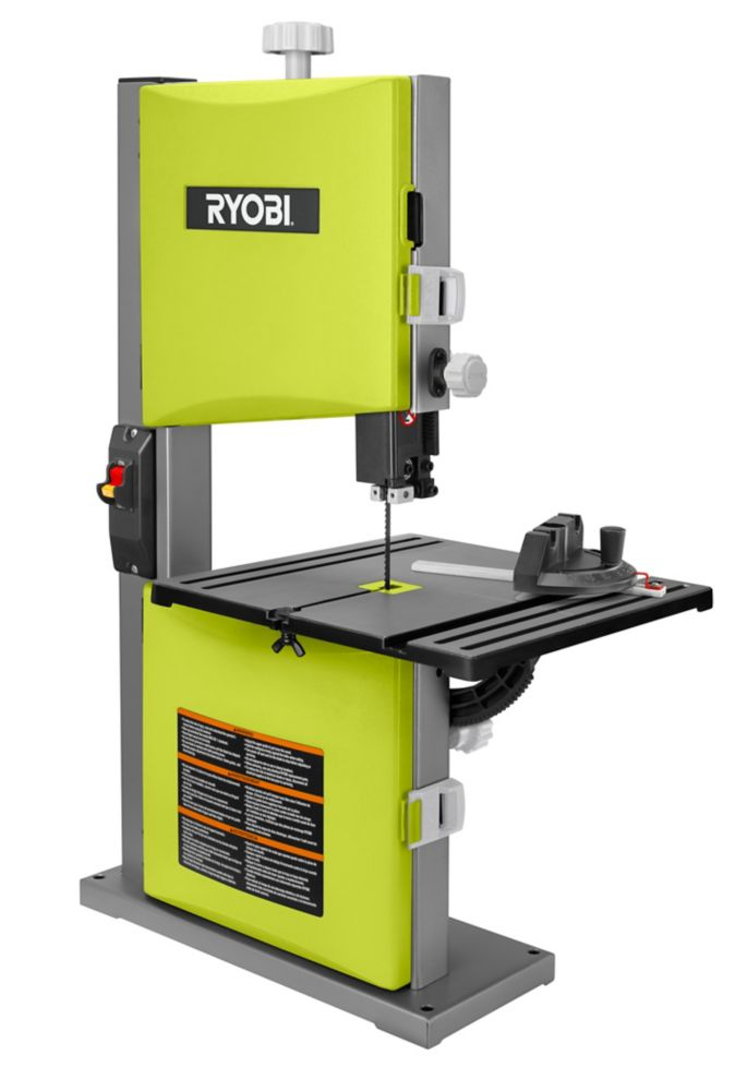 ryobi 9 inch 2 5 amp band saw the home depot canada. Black Bedroom Furniture Sets. Home Design Ideas