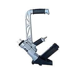 2 in 1 Flooring Stapler Nailer fires both 2 inch L-Head Cleats and 15.5 ga Staplers