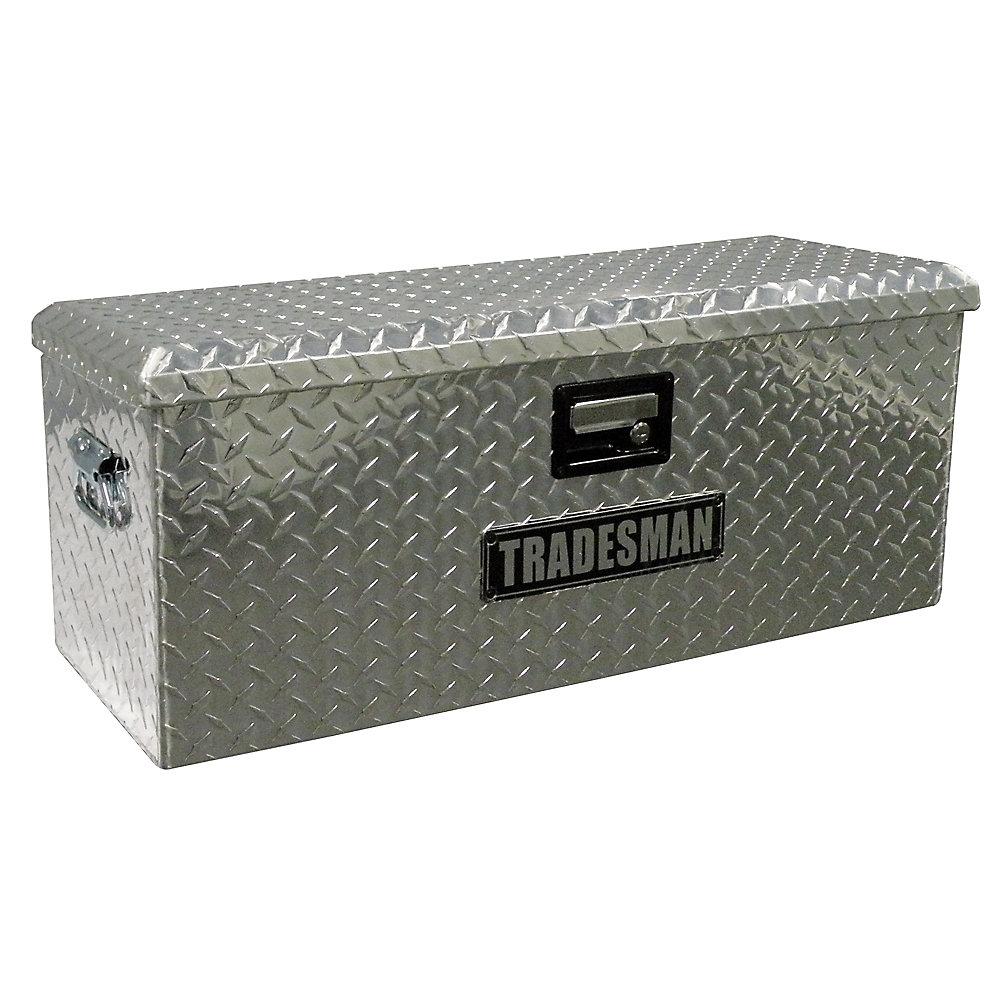 Caisse de rangement pour VTT de 32 pouces, aluminium