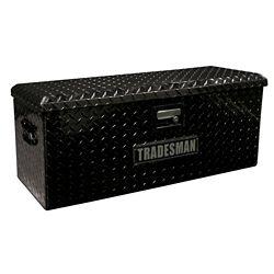 Tradesman 32 inch ATV Storage Box, Aluminum, Black