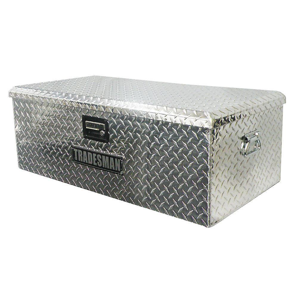 Caisse de rangement pour VTT de 36 pouces, aluminium