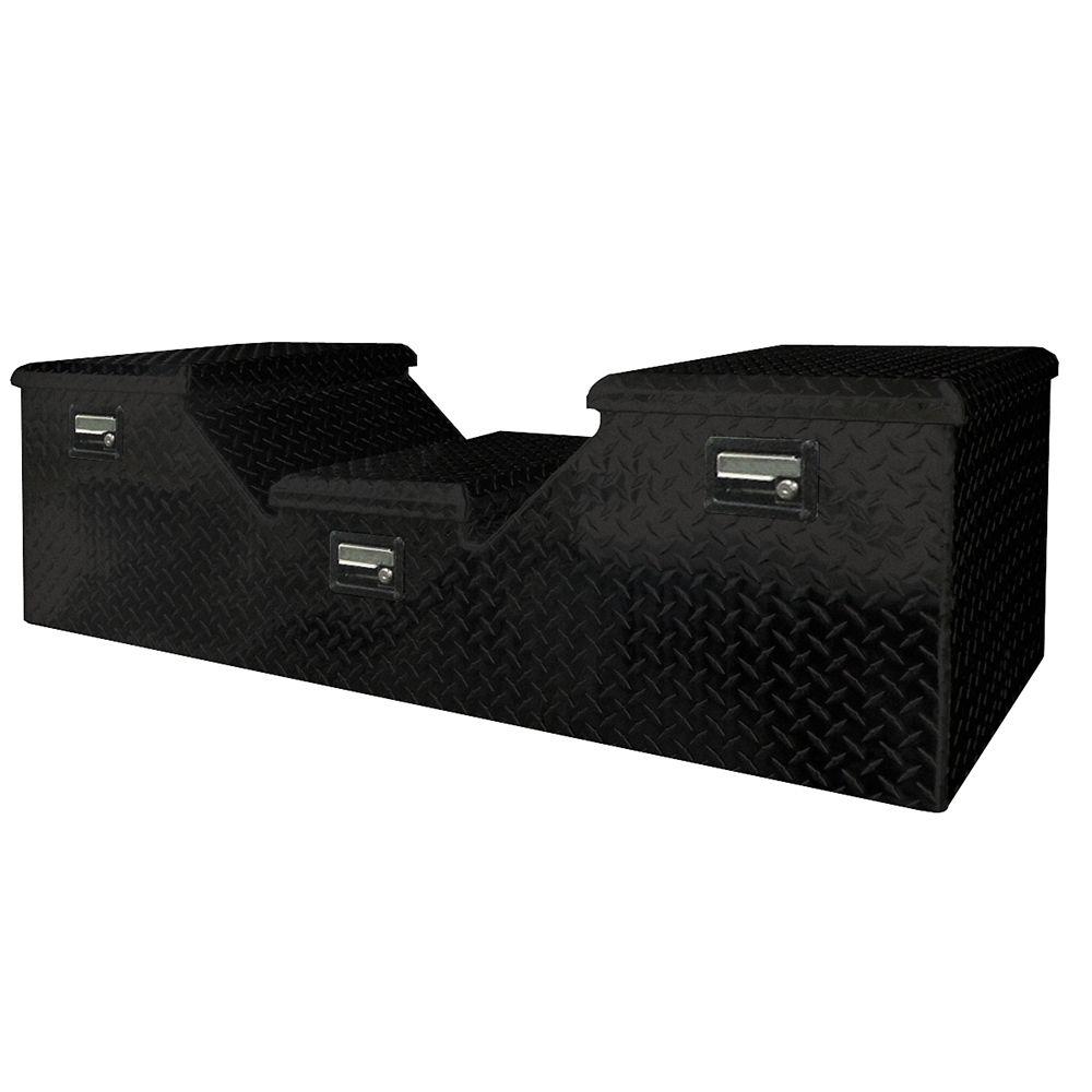 5th Wheel Truck Box, Aluminum, Black