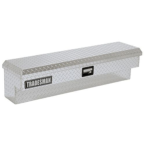 Tradesman 48-inch Full or Mid Size Side Bin Aluminum Truck Tool Box