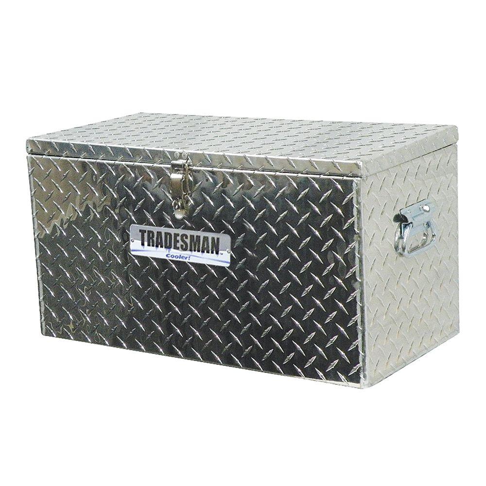 Heavy Duty Aluminum Cooler, 48 Quart/12 Gallon