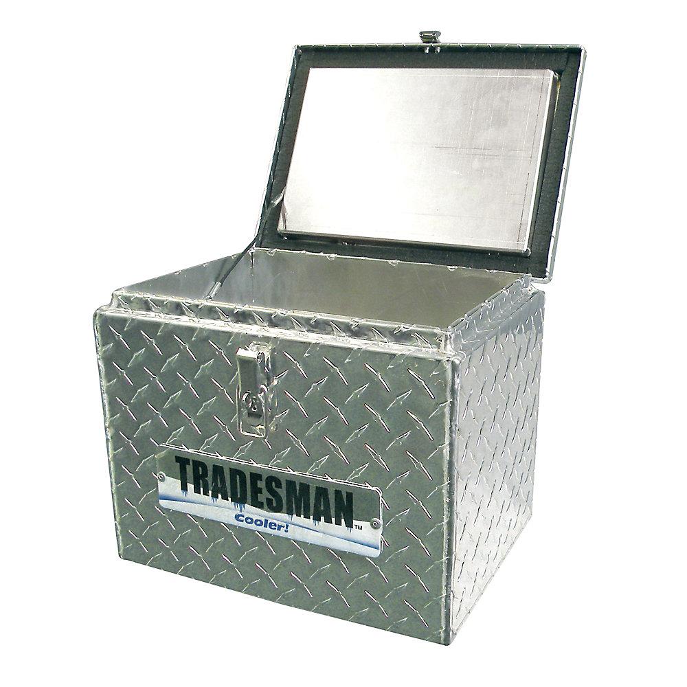 Small Aluminum Cooler, 20 Quart/5 Gallon