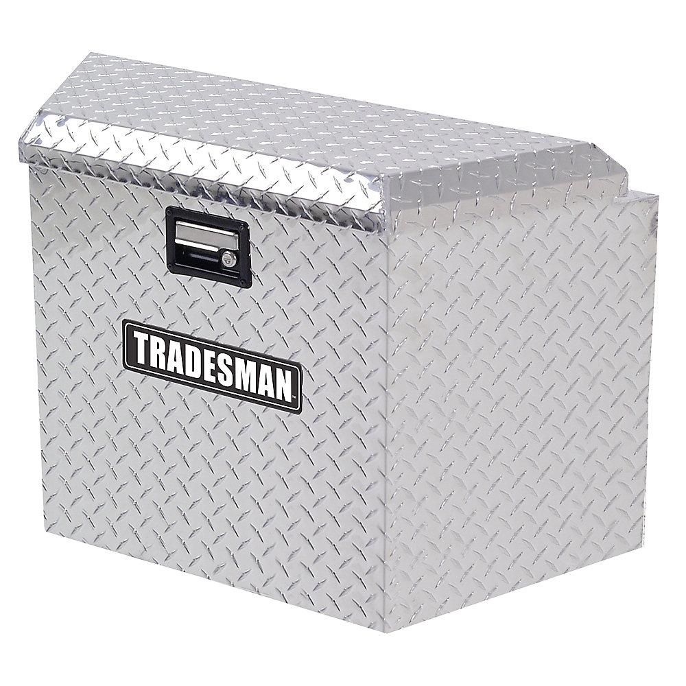 Caisse pour timon dattelage de 21 pouces, aluminium