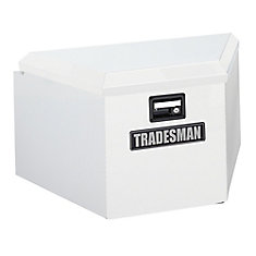 16  inch Trailer Tongue Box, Steel, White