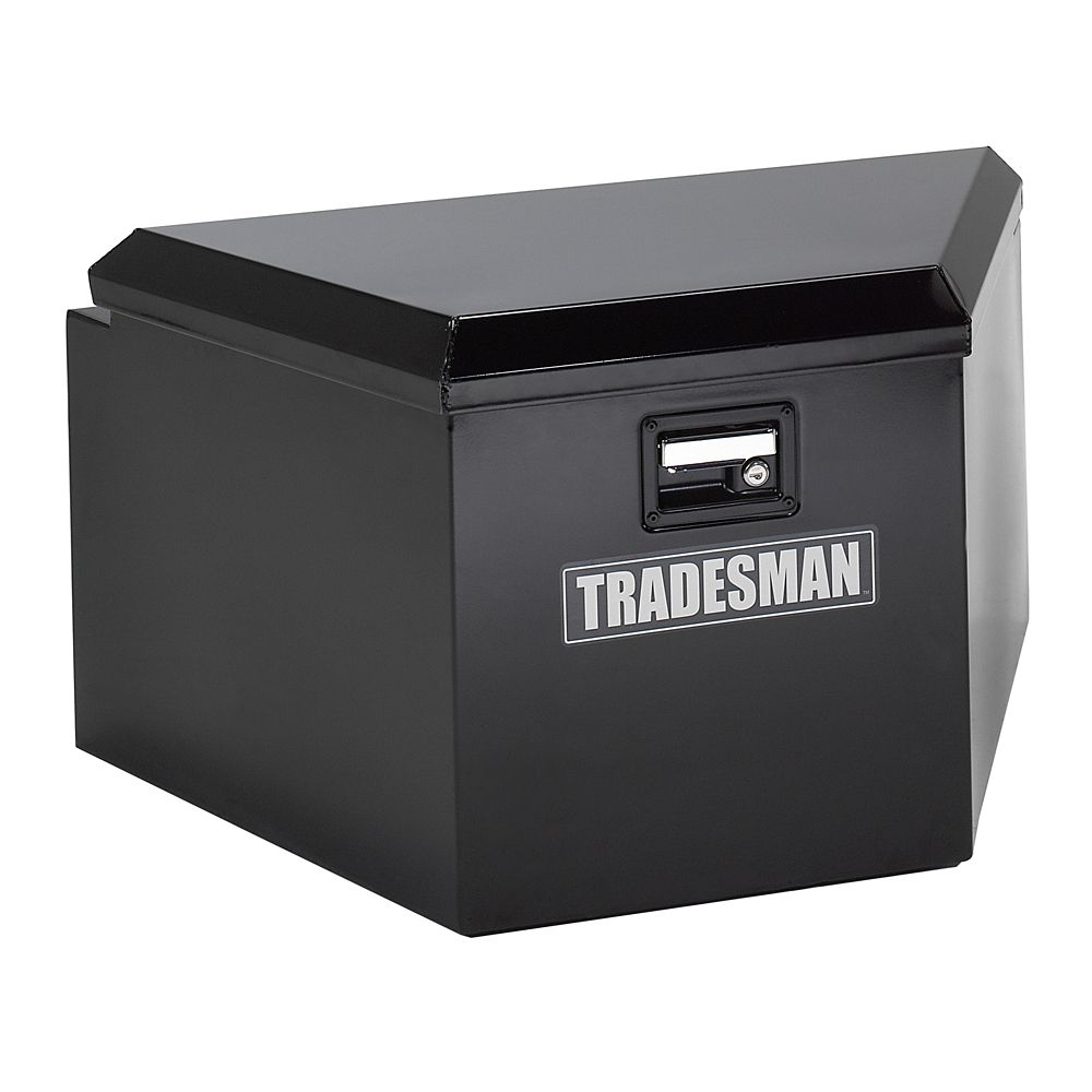 16  inch Trailer Tongue Box, Steel, Black
