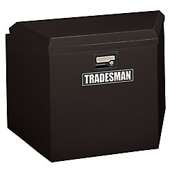 Tradesman 21  inch Trailer Tongue Box, Steel, Black